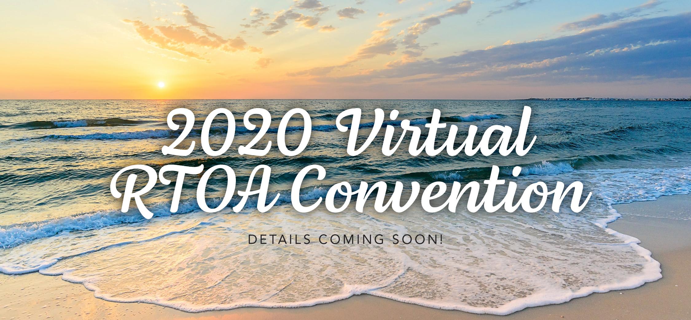 2020 Virtual RTOA Convention